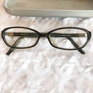 Vintage Christian Dior Eyeglasses Gray